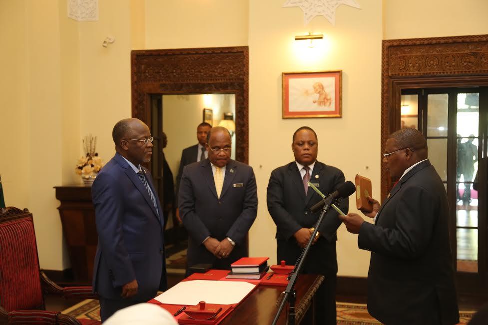 Matukio ya Rais Magufuli Leo Ikulu jijini Dar es Salaam ...
